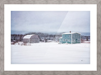 Homestead Picture Frame print