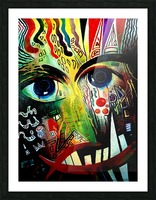 Expressionism 2 Picture Frame print