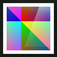 Spectrum Picture Frame print