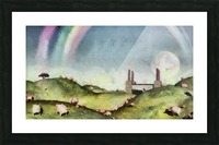 Under the rainbow Picture Frame print