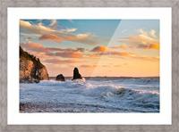 Tangerine Skies Picture Frame print