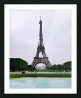 Eiffel from a distance Picture Frame print
