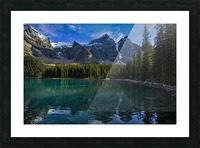 Moraine Lake  Picture Frame print