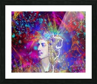 Lord Byron Picture Frame print