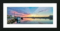 La Digue Twilight Picture Frame print