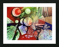 Abstraction Picture Frame print