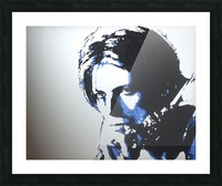 The man who fell to earth Picture Frame print
