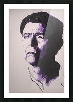 2014 Sad Bowie Picture Frame print
