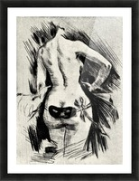 Hypocracy by Felicien Rops Picture Frame print