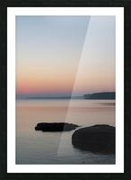 Huron Sunrise 2 Picture Frame print