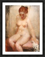 Nude Picture Frame print