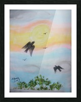 Flying High Picture Frame print