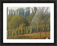 Haystacks Picture Frame print