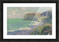 The Cliffs of Saint-Jouin Picture Frame print