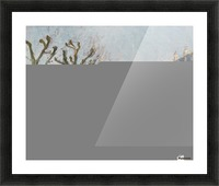 Quay of the River Long, Village, Sun Picture Frame print