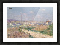 The Spring at Ile-de-France Picture Frame print