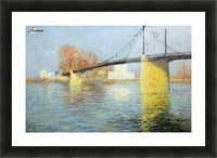 The Banks of the Seine, Triel Picture Frame print
