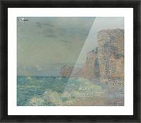 Porte d'Amont, Etretat Picture Frame print