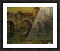 The Bridge at Twilight, Dinan Picture Frame print