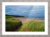 Sand and Grass Picture Frame print