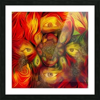Eyes Picture Frame print