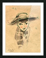 Madame Picture Frame print