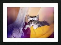 Murmur 2 Picture Frame print