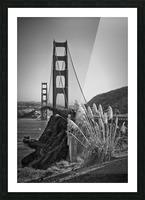 SAN FRANCISCO Golden Gate Bridge Picture Frame print