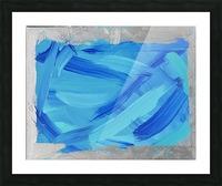Blue. Walker W. Picture Frame print
