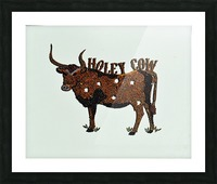 Holy Cow. Stephen R Picture Frame print