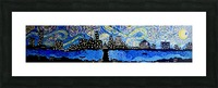 Austin Starry Night. Tala S. Picture Frame print