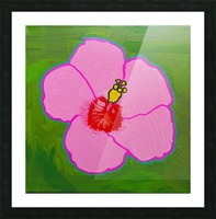 Hibiscus. Annie F Picture Frame print