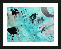 Abstract Watercolor. Geoffory E Picture Frame print