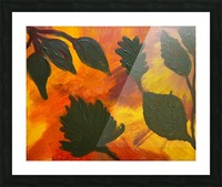 Fall Leaves. Jessica B Picture Frame print