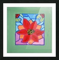 Poinsettia. Thomas L Picture Frame print
