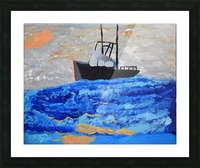 Tug Boat. Davey K Picture Frame print