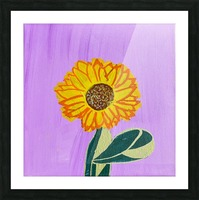 Sunflower. Annie F. Picture Frame print