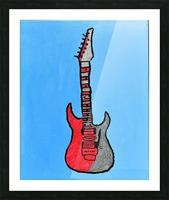 Rock N Roll. Glenn N. Picture Frame print