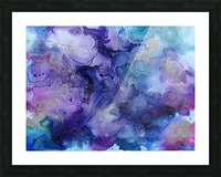 PURPLE CLOUDS Picture Frame print
