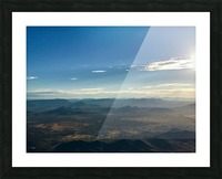 Looking Down Picture Frame print