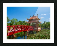 Can Tho temple VietNam Picture Frame print