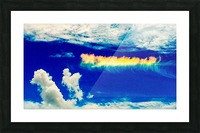 Follow the rainbow  Picture Frame print