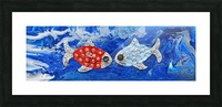 Fishing in Love. Lindsey D Picture Frame print