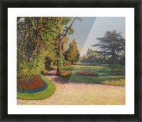 The Garden in Summer Picture Frame print