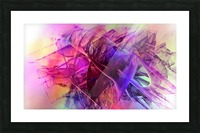 COLORED GLASS Picture Frame print