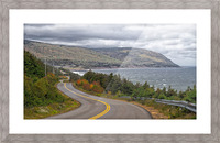 Long and Winding Road Picture Frame print