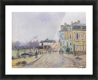 Street of Pontoise Picture Frame print
