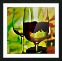 winedown Picture Frame print