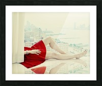 lazy afternoon Picture Frame print