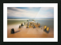 sea road Picture Frame print